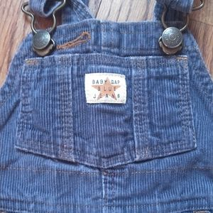 Baby gap corduroy overalls